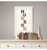 Alexander & Co. Alphabet White Custom Poster