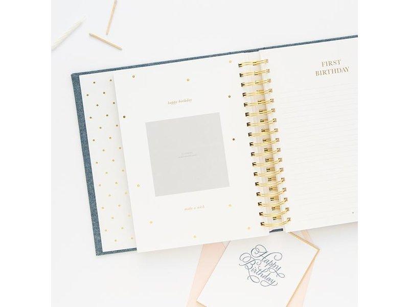 Sugar Paper Baby Book