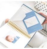 Sugar Paper Chambray Baby Book