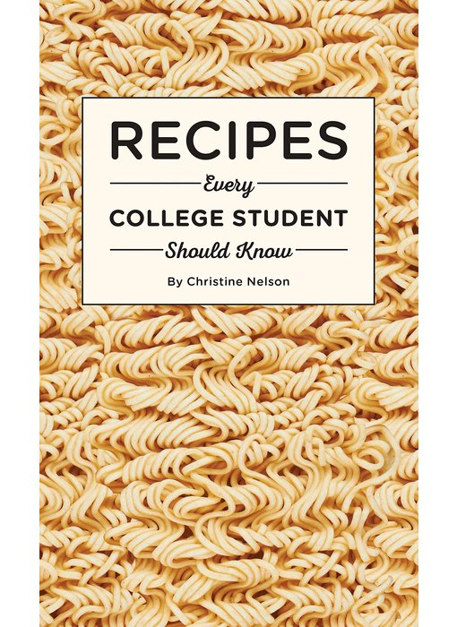 Recipes Every College Student