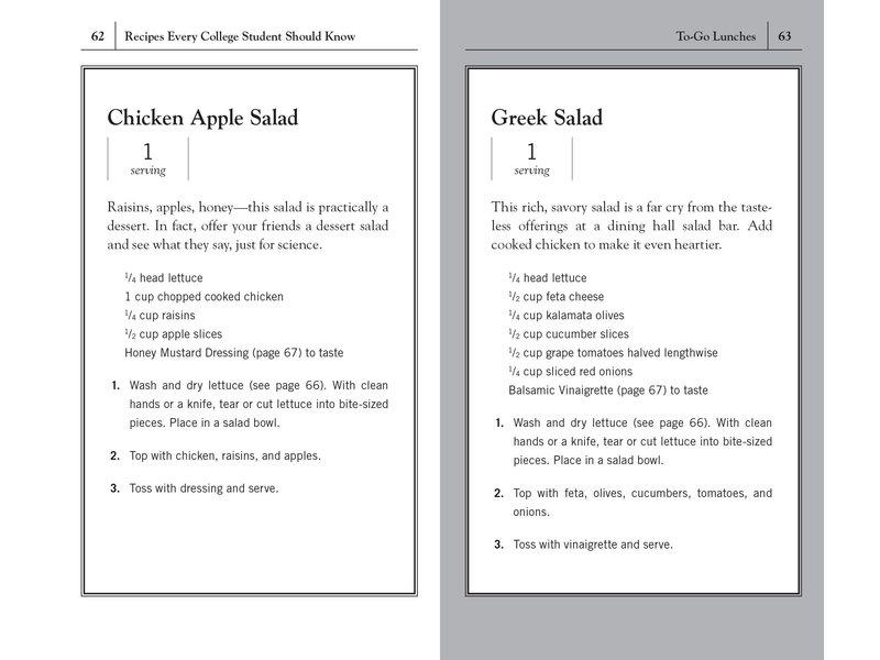 Random House Recipes Every College Student