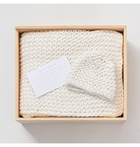 "Zestt Organic Cotton Knit Ivory Gift Set 32""x40'"