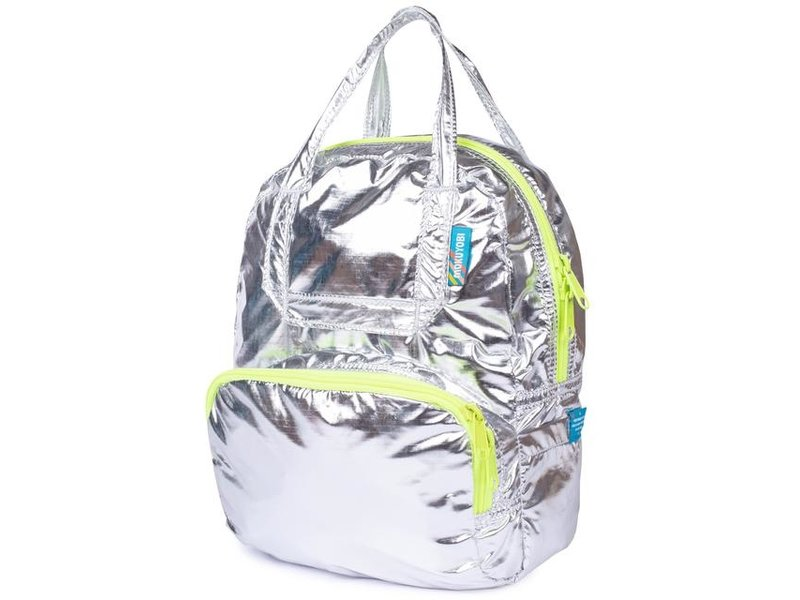 Mokuyobi Mini Atlas Backpack  Metallic/Neon Yellow Mini