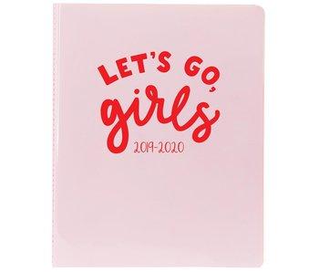 Light Pink Vinyl Agenda