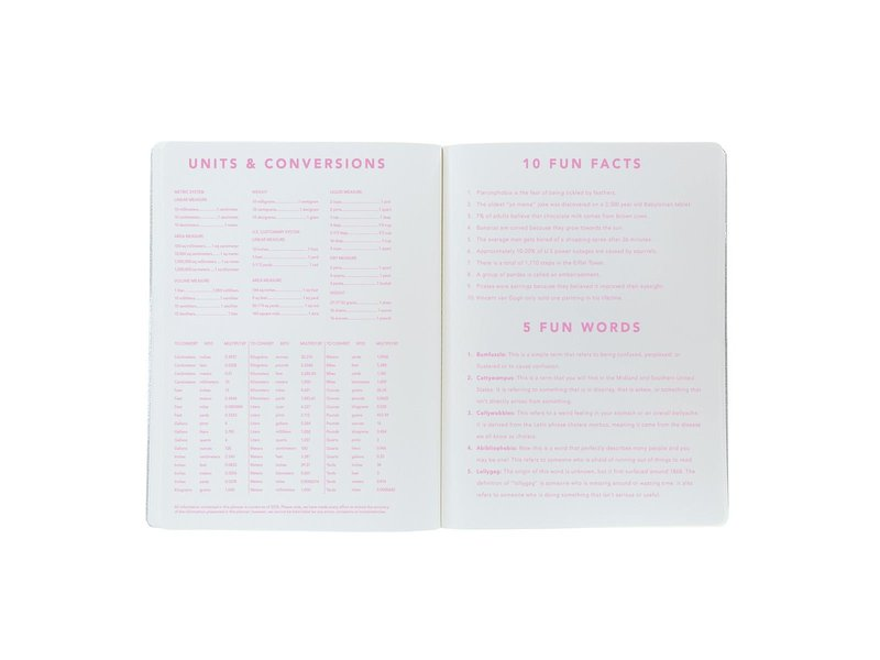 Graphique De France Light Pink Vinyl Agenda