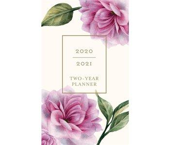Vintage Floral 2 Year Pocket Planner