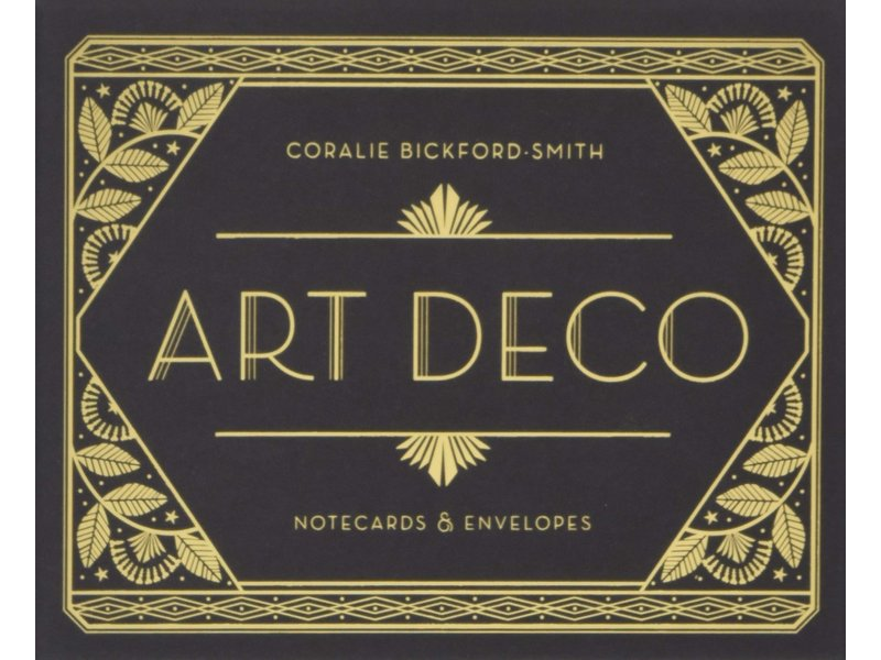 Chronicle Books (Hachette, Mudpuppy) Art Deco Notecards