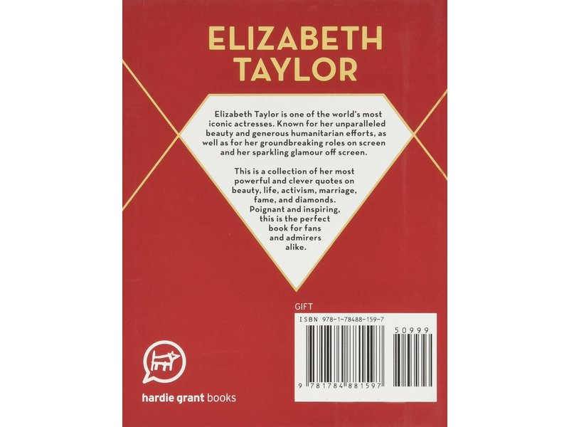Chronicle Books Pocket Elizabeth Taylor Wisdom