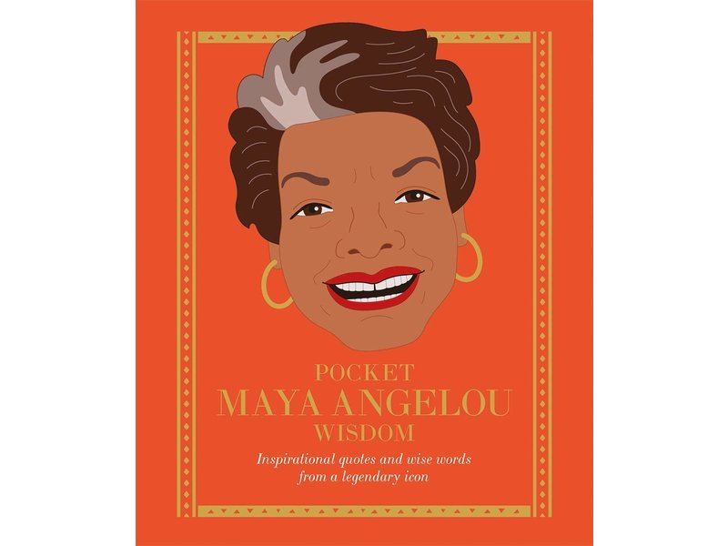 Chronicle Books (Hachette, Mudpuppy) Pocket Maya Angelou Wisdom
