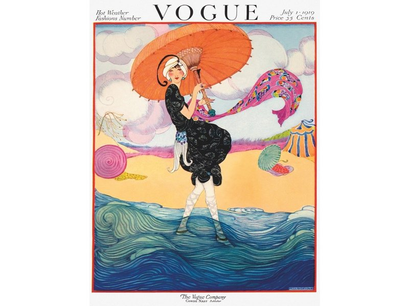 new york puzzle company VOGUE How The Wind Blows Puzzle