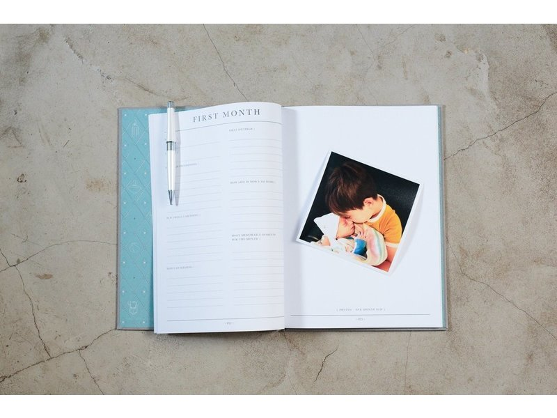 Write to Me Stationary & Press Baby Journal- Birth To Five years