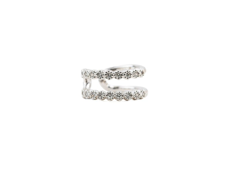 Cubic Tru Cuffs Silver