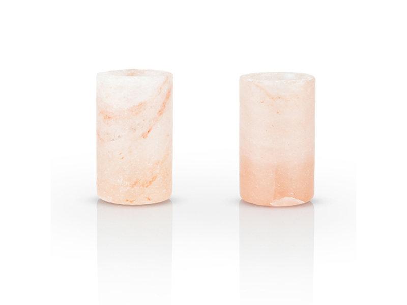 True Brands Summit Himalayan Salt Shot Glass