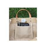 Apolis Global Citizen Chicago Coordinates Natural Market Bag