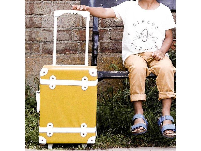 Olli Ella Mustard Seeya Suitcase
