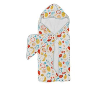 Hooded Towel Sets Cutie Fruits
