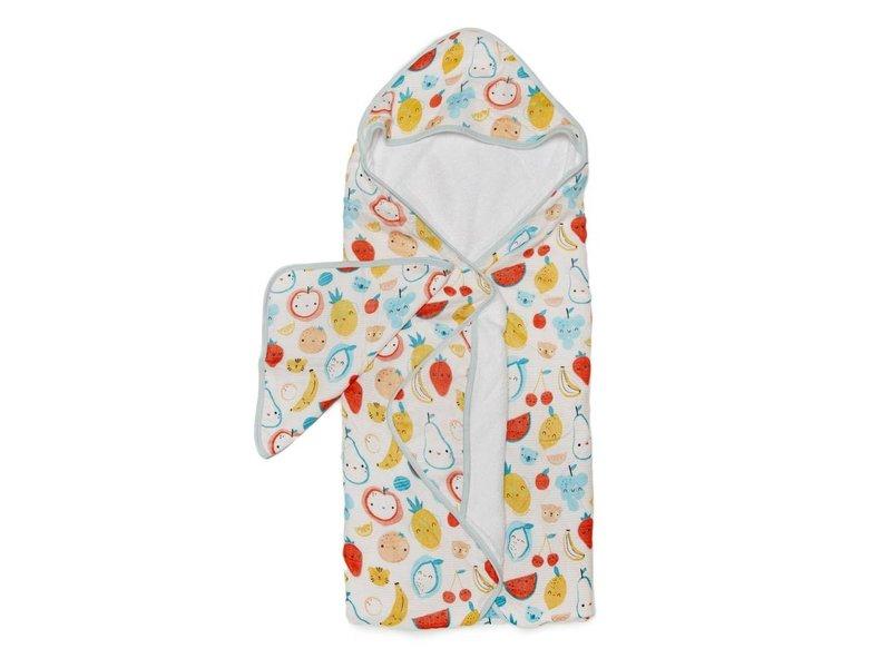Hooded Towel Sets Cutie Fruits