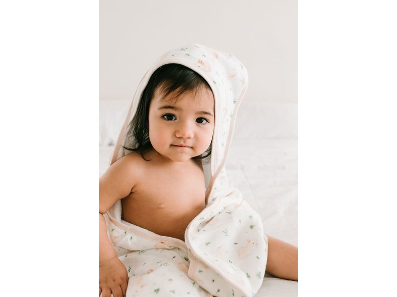 Loulou Lollipop Hooded Towel Sets Bunny