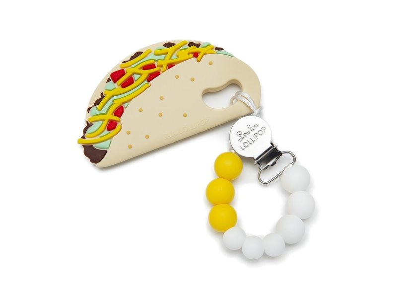 Taco Silicone Teether Set
