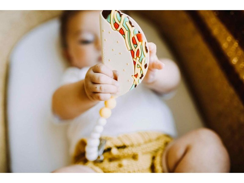 Loulou Lollipop Taco Silicone Teether Set