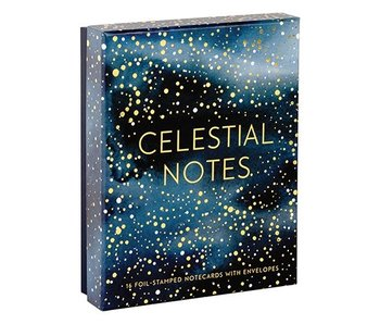 Celestial Boxed Stationery Notes
