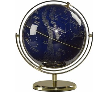 Globe Swivel Stand Night Sky