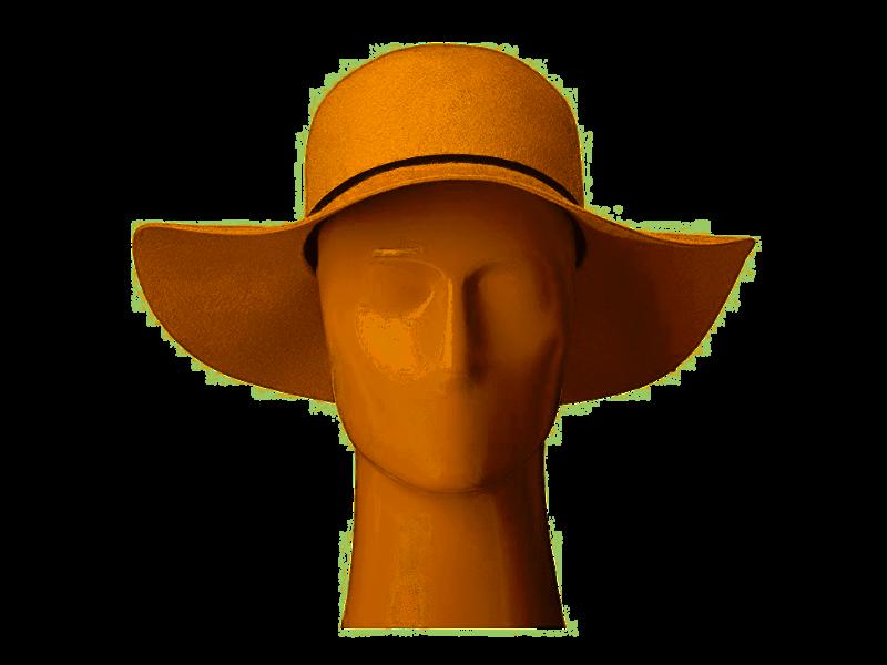 San Diego Hat Company Women's Floppy- Camel