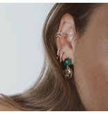 Panther Head Drop Earrings