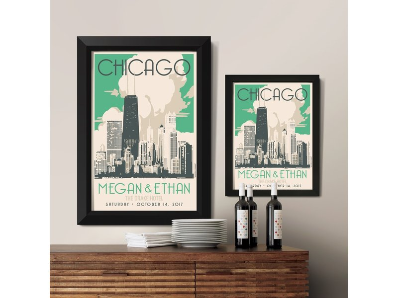 Alexander & Co. Chicago Gold Coast Custom Poster
