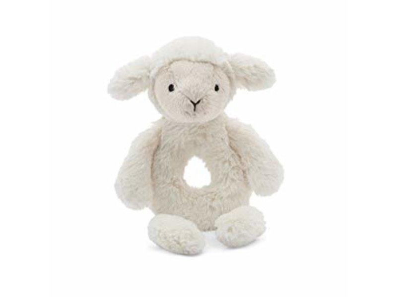 JellyCat Inc Bashful Lamb Ring Rattle