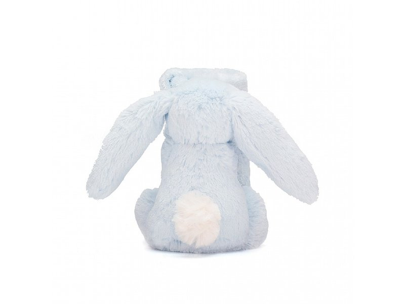 JellyCat Inc Bashful Bunny Soother Blue