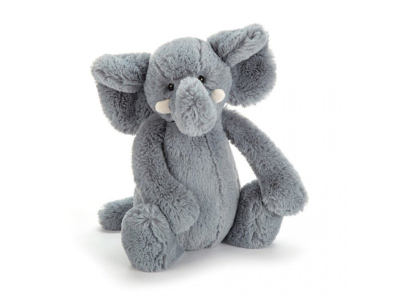 JellyCat Inc Bashful Grey Elephant Huge
