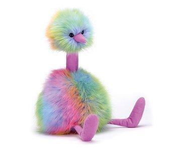 Pom Pom Rainbow Bird Large