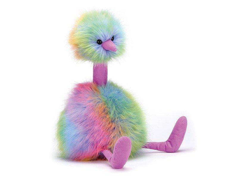 JellyCat Inc Pom Pom Rainbow Bird Large