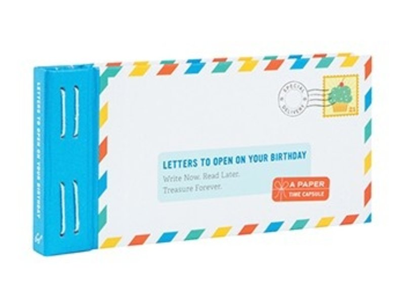 Chronicle Books Letters to Open on your Birthday