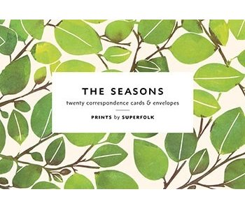 The Seasons Correspondence Cards