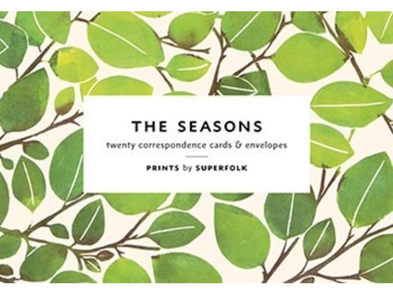 Chronicle Books (Hachette, Mudpuppy) The Seasons Correspondence Cards