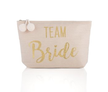 Mia Team Bride Blush Zip Pouch