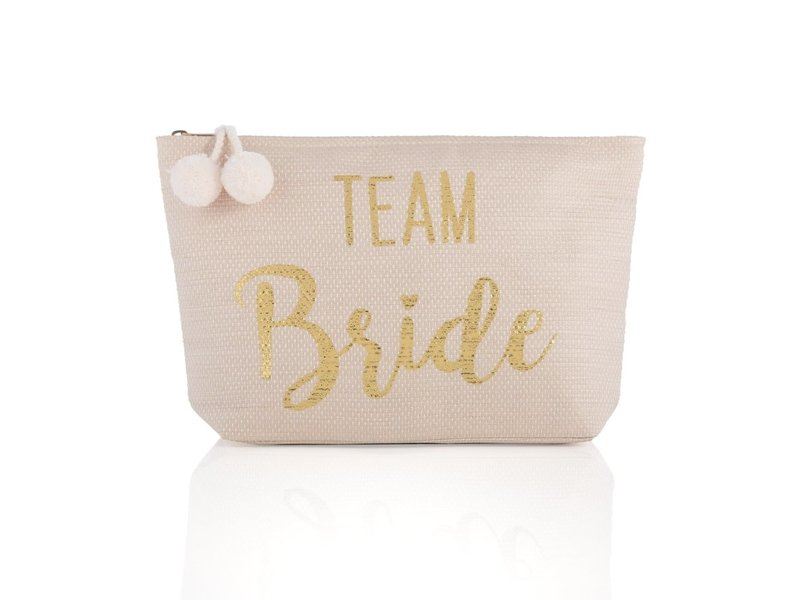 Shiraleah Mia Team Bride Blush Zip Pouch