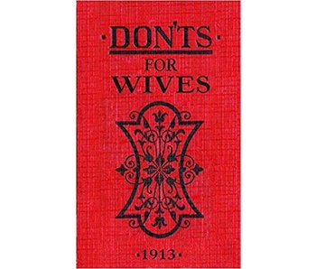 Dont's For Wives