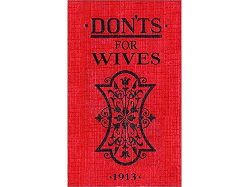 Macmillan Publishing Dont's For Wives