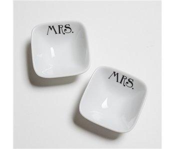 Mrs. & Mr. Ring Dish Set