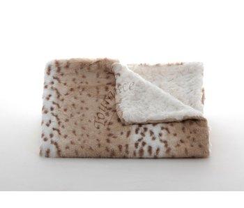 Snow leopard Ivory Baby Blanket