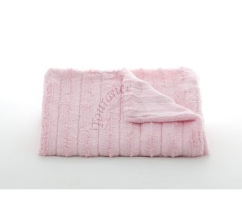 Channel Pink Baby Blanket
