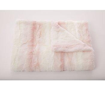 Laurent Sorbet Pink Baby Blanket