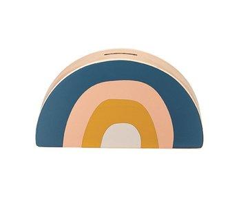Wood Rainbow Bank