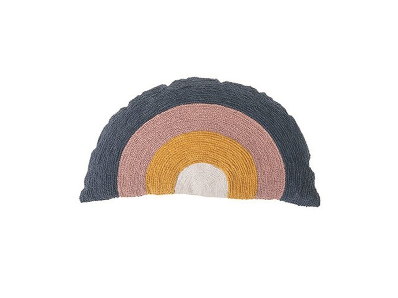 Bloomingville Cotton Rainbow Pillow