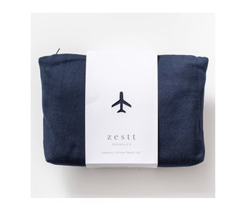 Organic Cotton Travel Set Navy