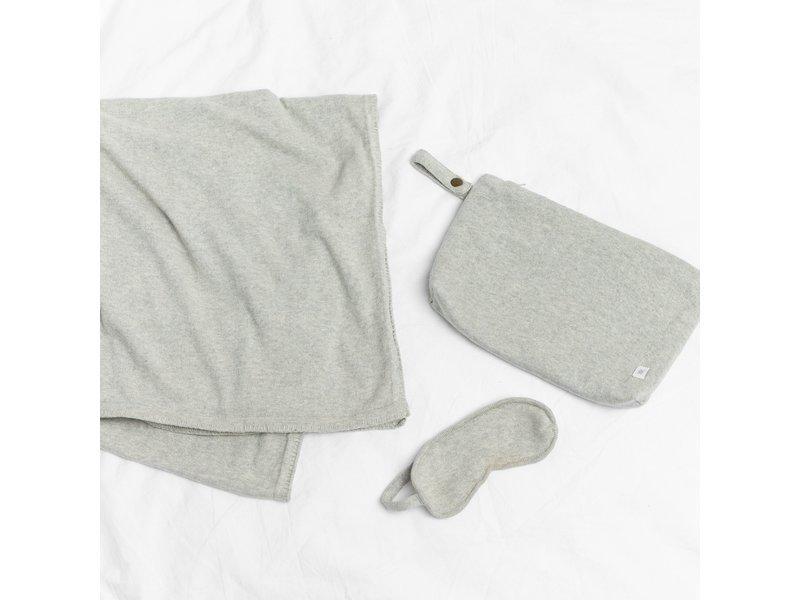 Zestt Organic Cotton Travel Set Light Gray