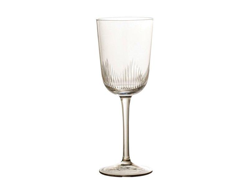Bloomingville Smoke Wine Glass